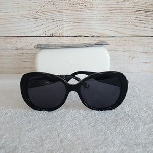 New Marc Jacobs Round Black Sunglasses